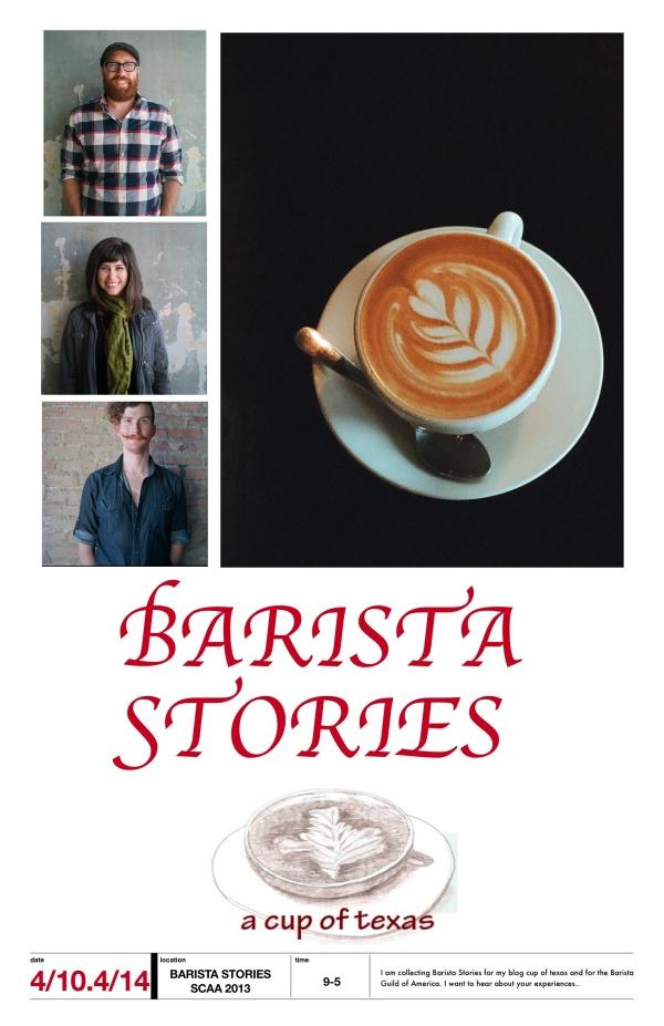Barista Stories SCAA